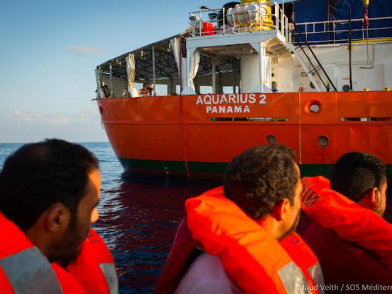 Aquarius, Panama Aquarius, pressioni Panama, Salvini Panama, SOS Méditerranée accusa Italia