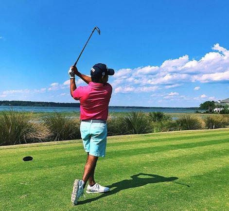 Golf, primo coming out di un professionista