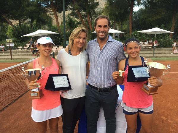 Tennis, under 14 femminili. Martinelli si impone nel singolare, Pedone-Di Muzio nel doppio