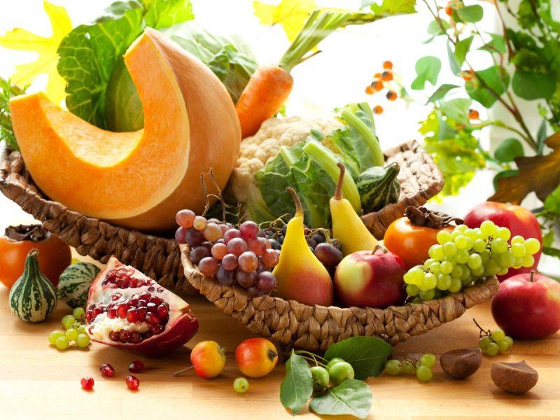 frutta e verdura da consumare in autunno