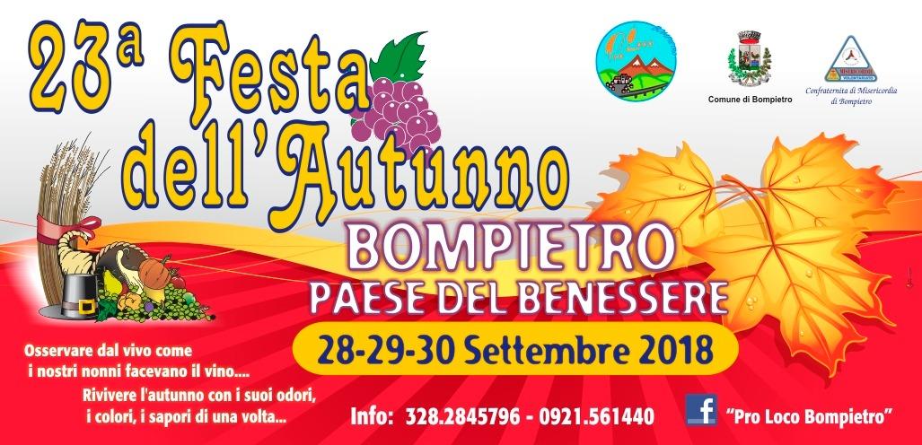 """Bompietro, torna la """"Festa dell'autunno"""""""