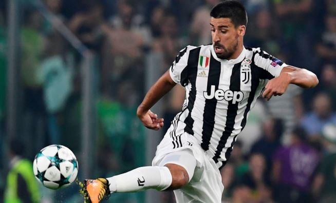 Juventus, distrazione ai flessori per Khedira: out 3 settimane