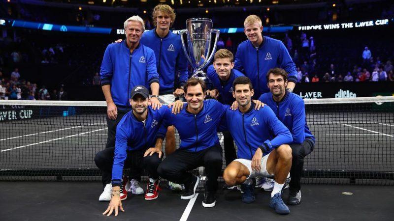 Laver Cup, Federer e Zverev firmano la vittoria dell'Europa