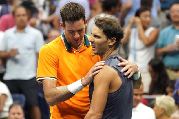 US Open, Nadal si ritira con del Potro. Finale contro Djokovic