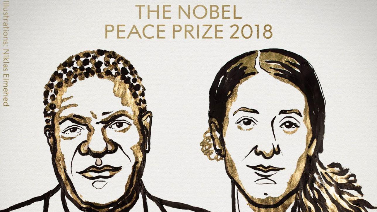 Il Nobel per la Pace 2018 a Mukwege e Murad