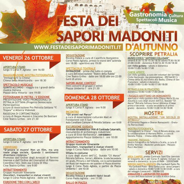 Festa dei sapori madoniti, weekend di eventi a Petralia Sottana