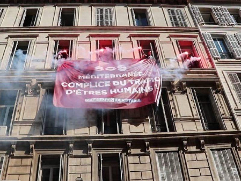 Marsiglia, militanti di estrema destra attaccano la sede di Sos Mediterranée