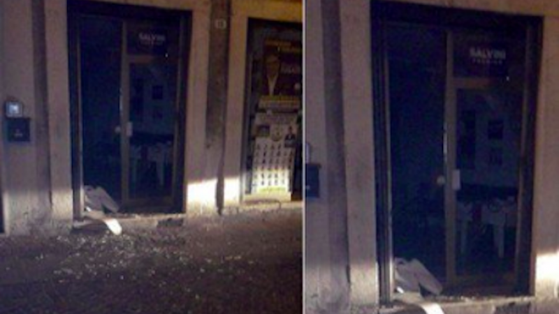 Trento, bomba carta contro la sede Lega