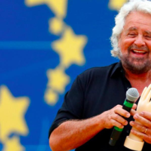 Grillo show al Circo Massimo: