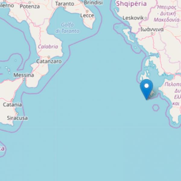 Grecia, sisma di magnitudo 6.8: tremano Puglia, Calabria e Sicilia