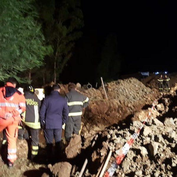 Crotone, tentano uno sbancamento e restano sepolti: 4 morti