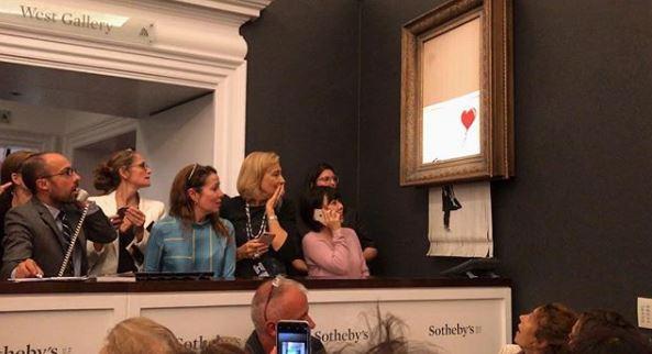 "Banksy rivela: ""Così ho distrutto la mia opera"""