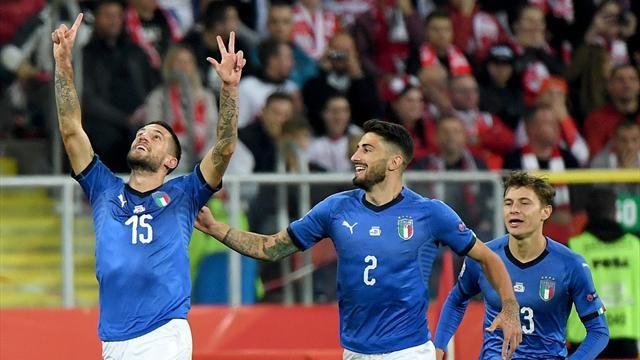 Nations League, Polonia-Italia 0-1: Biraghi salva gli azzurri nel recupero