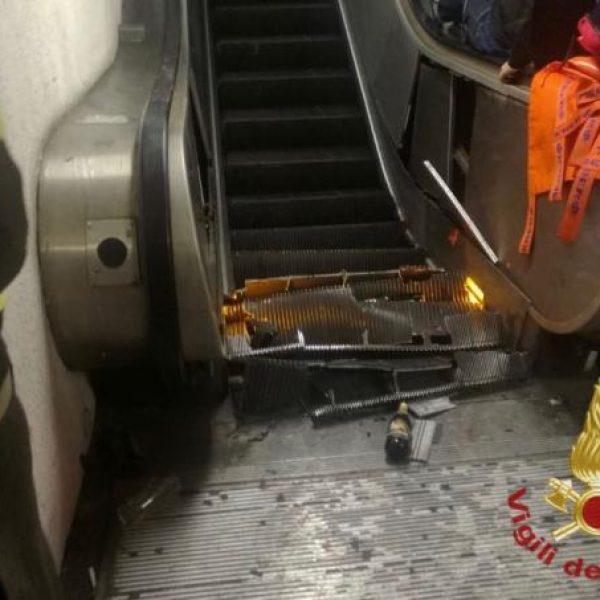Metro Roma, su crollo scala mobile versioni discordanti