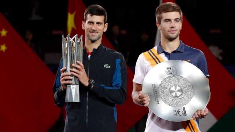 Masters 1000 Shanghai, Djokovic torna campione: battuto Coric