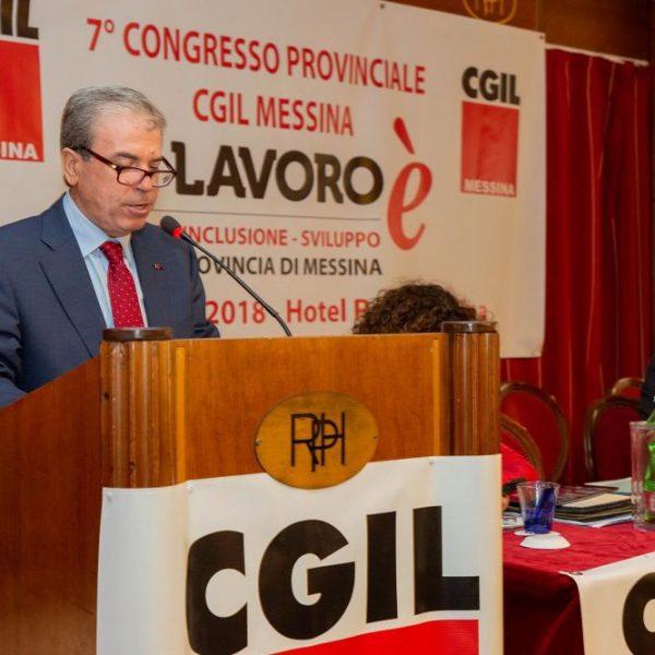 """Cgil Messina, Mastroeni: """"Pieno rispetto per società e lavoratori"""""""