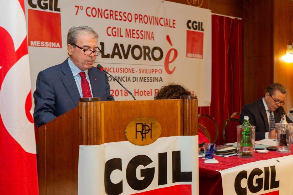 Messina, Giovanni Mastroeni alla guida della Cgil per 4 anni
