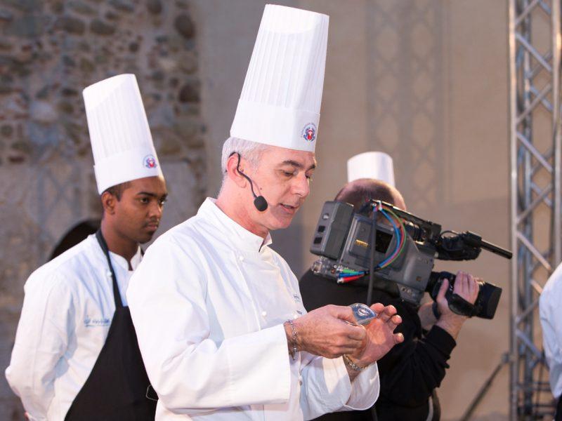 taormina gourmet, taormina gourmet 2018, chef pasquale caliri, gambero rosso nel rosso più rosso, Gualtiero Marchesi, Emilio Isgrò