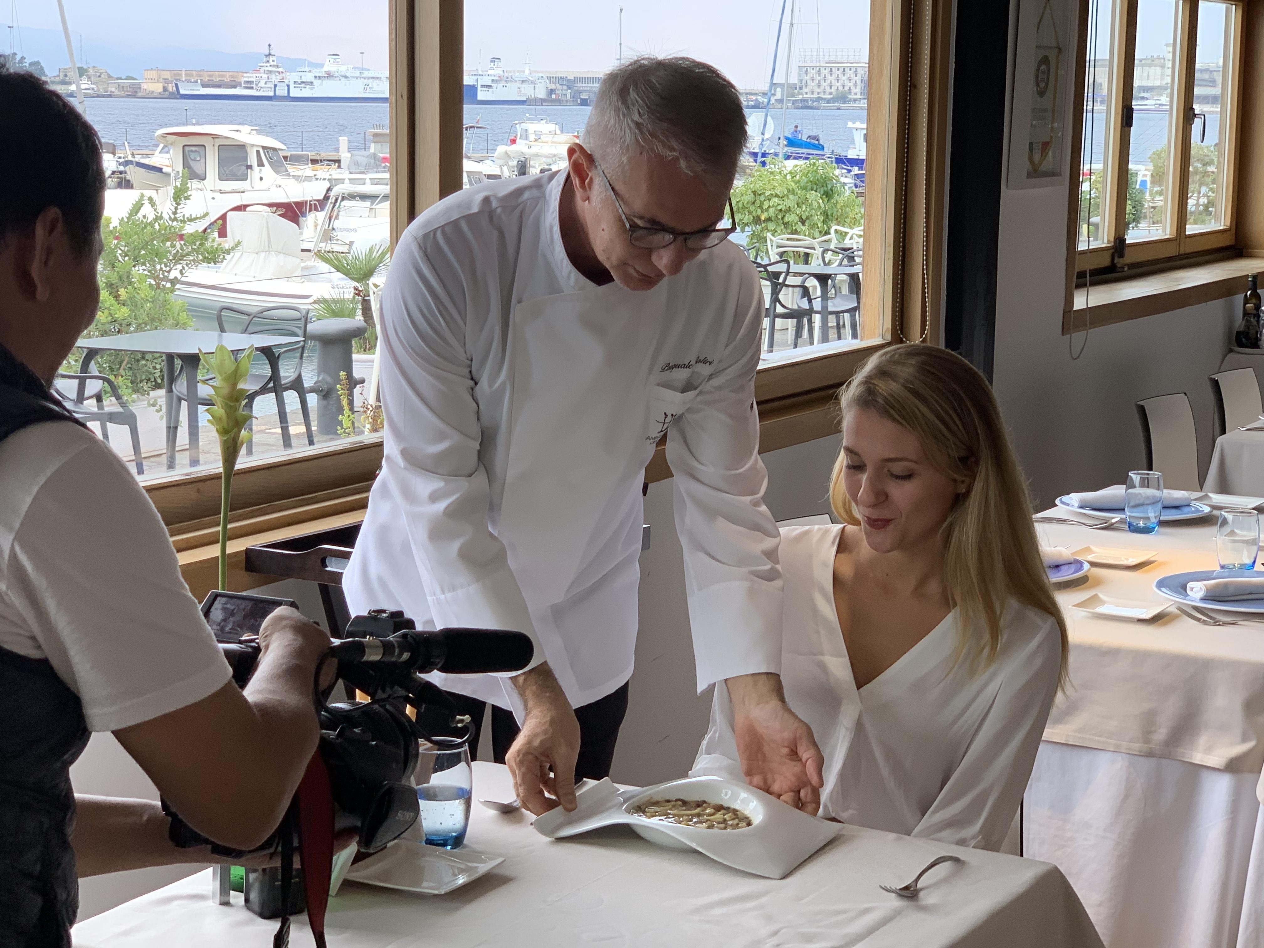 Messina in onda a Tokio con Miss Sicilia e chef Caliri