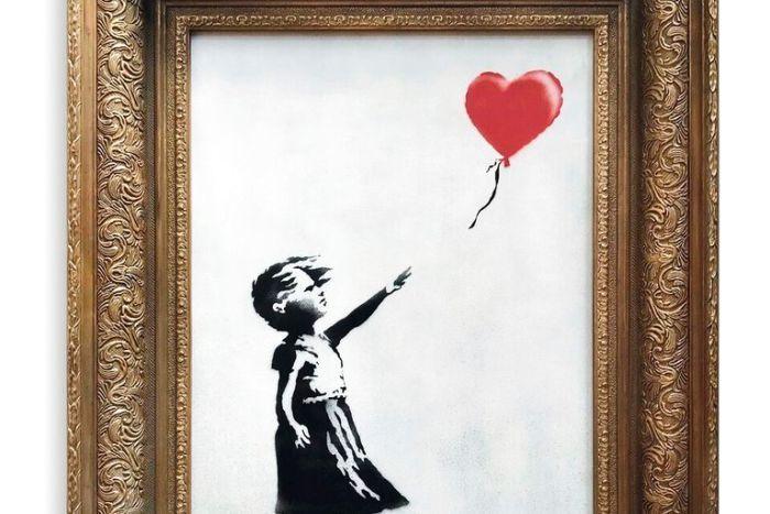 Arte, dipinto di Bansky battuto da Sotheby's si autodistrugge
