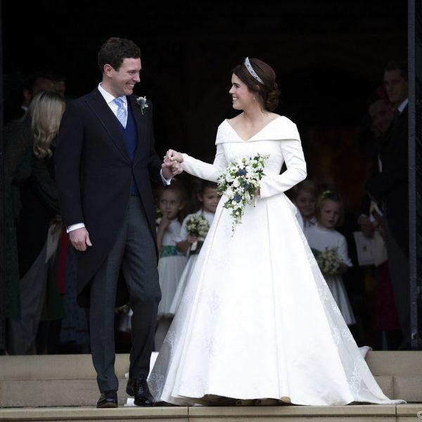 Royal wedding, l'abito da sposa di Eugenie
