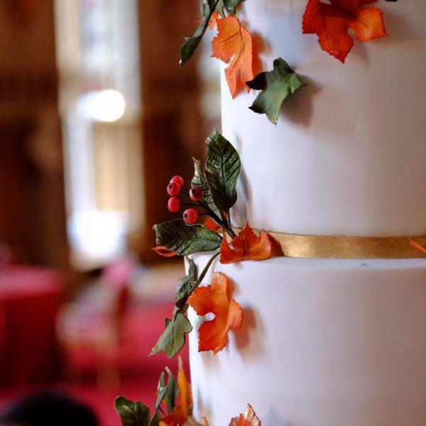 Royal wedding, torta nuziale dedica all'autunno