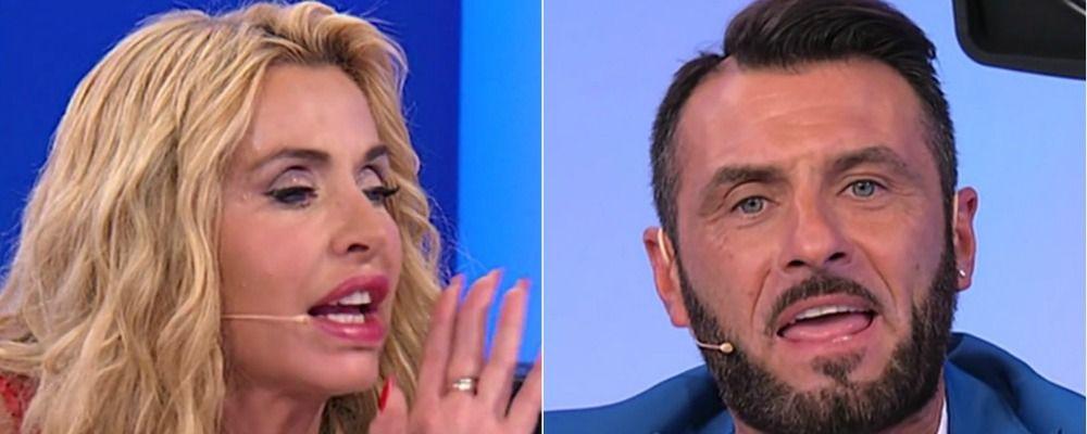 Speciale Uomini e Donne, Valeria Marini rifiuta Sossio infastidita