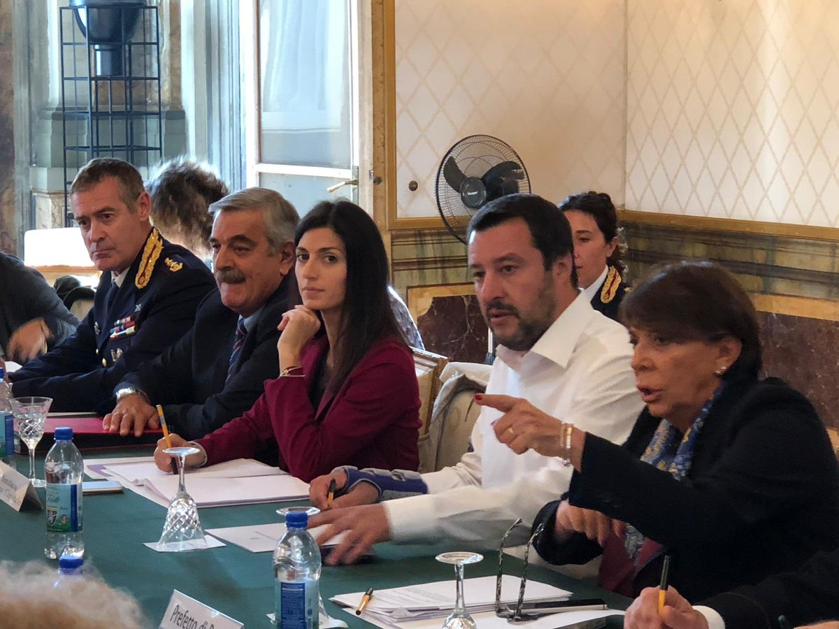 Omicidio Desirée, vertice in Prefettura con Salvini e Raggi