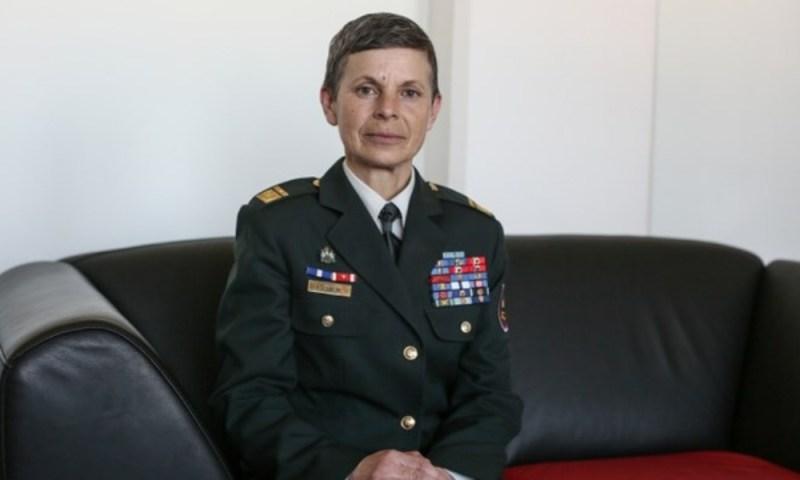 Slovenia, è Alenka Ermenc la prima donna Capo delle Forze armate