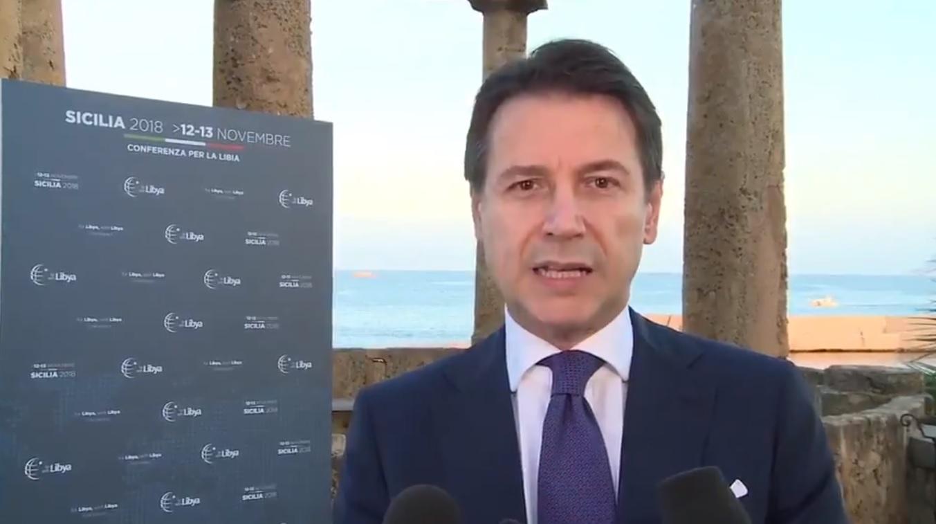 """Conferenza Libia, Conte: """"Chiedo dialogo e inclusione"""""""