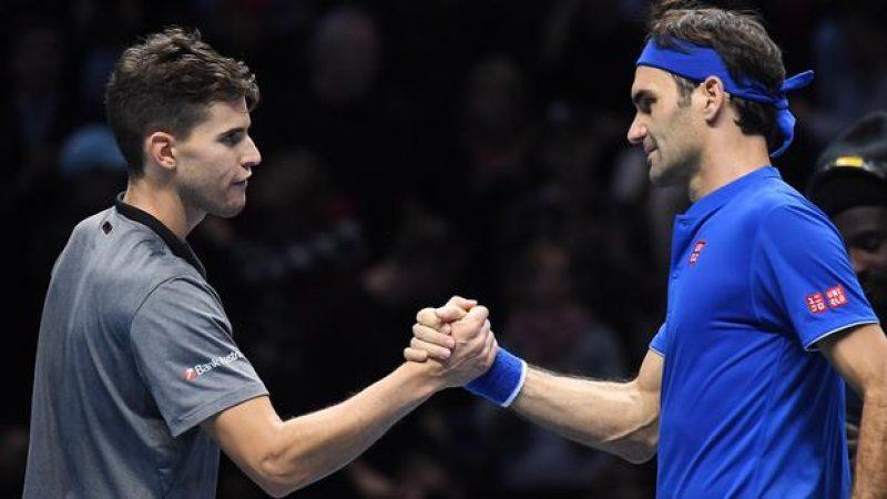ATP Finals, Federer risorge con Thiem. Anderson fa 2 su 2