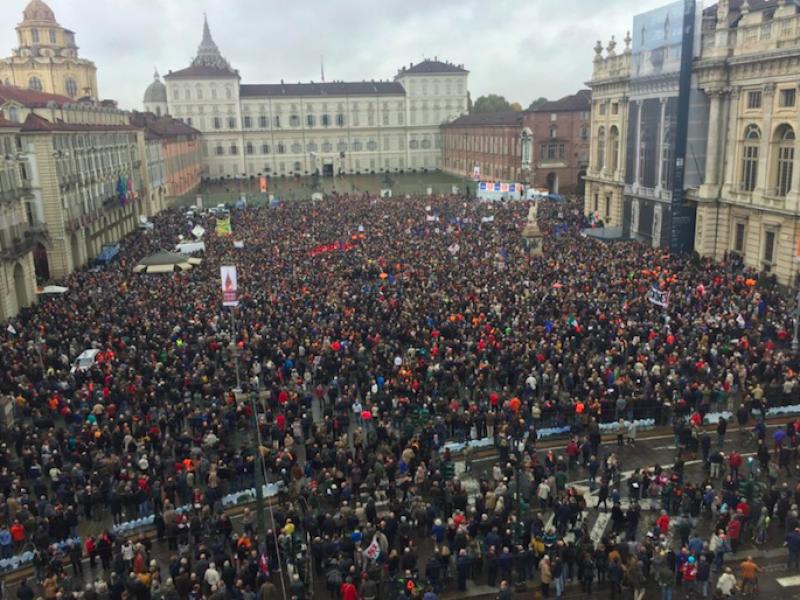 Sì Tav, Tav, Torino, manifestazione torino,