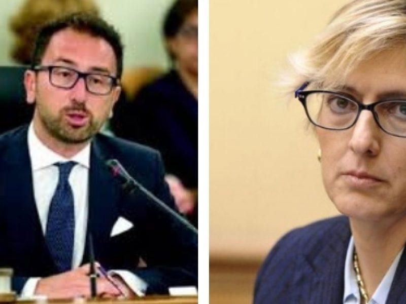 Giulia Bongiorno, Alfonso Bonafede, sospensione della prescrizione, giustizia, processi, scontro