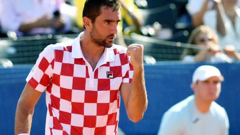Coppa Davis, Croazia sul 2-0 dopo i primi singolari. Doppio già decisivo