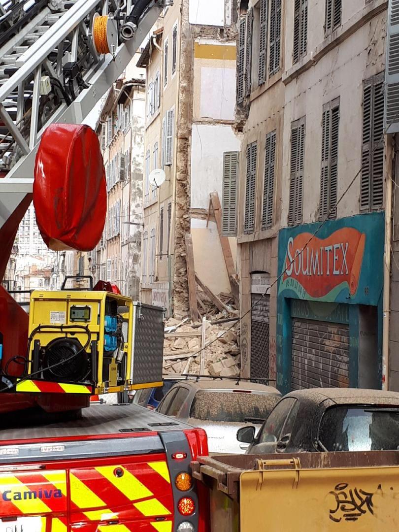 Crollo di Marsiglia, estratto il quinto cadavere