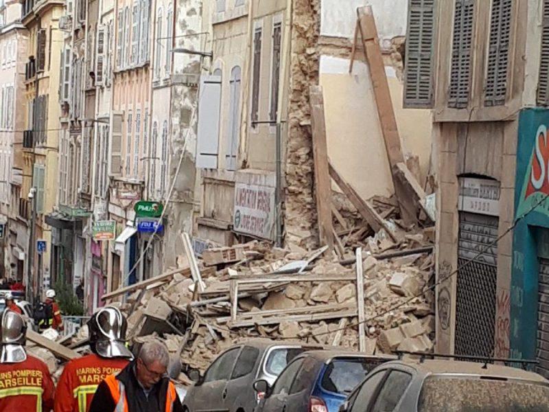 rue d'aubagne, crollo palazzine marsiglia, francia, ricerche ragazza italiana dispersa crollo palazzine a marsiglia