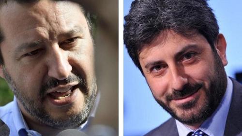 """Fico contro Salvini al Festival del Giornalismo: """"E' stato un errore denunciare Saviano"""""""
