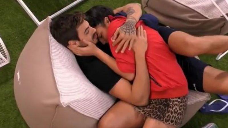 Gf Vip, un nuovo bacio tra Francesco Monte e Giulia Salemi