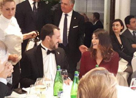 Salvini e Isoardi insieme a una cena di gala, ritorno di fiamma?