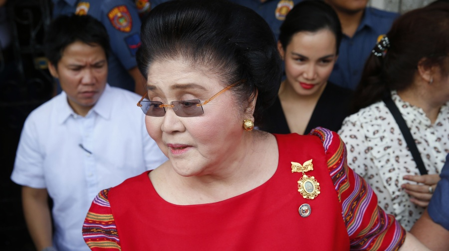 Filippine, ordine d'arresto per l'ex first lady Imelda Marcos