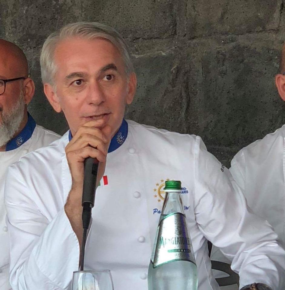 Lo Chef Pasquale Caliri a Palermo per la Guida di Repubblica 2019