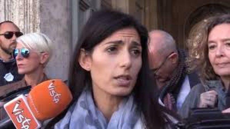 """Rogo Roma, Raggi: """"Scongiurata emergenza rifiuti a Natale"""""""