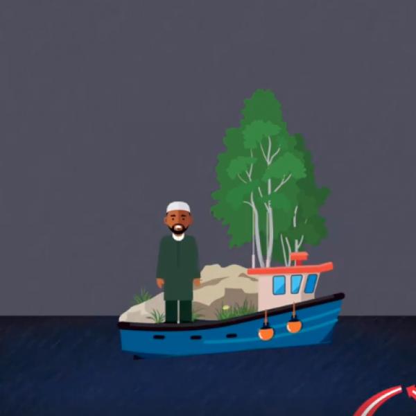 Danimarca, migranti confinati su un'isola deserta