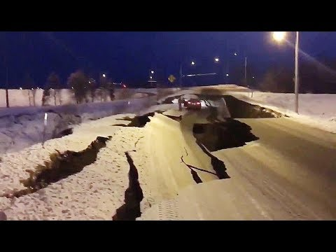 Alaska, trema la costa, terremoto magnitudo 6.1