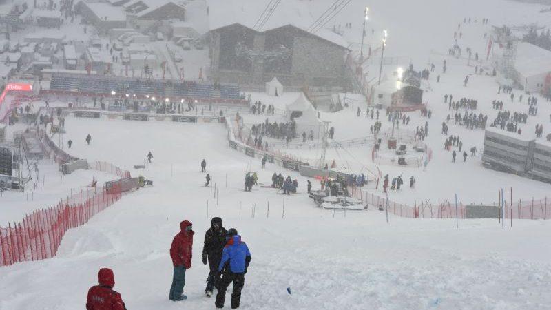 Coppa del Mondo, cancellato lo slalom in Val d'Isére per maltempo