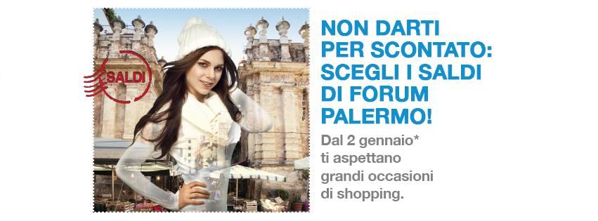Saldi invernali, notte bianca al Forum Palermo