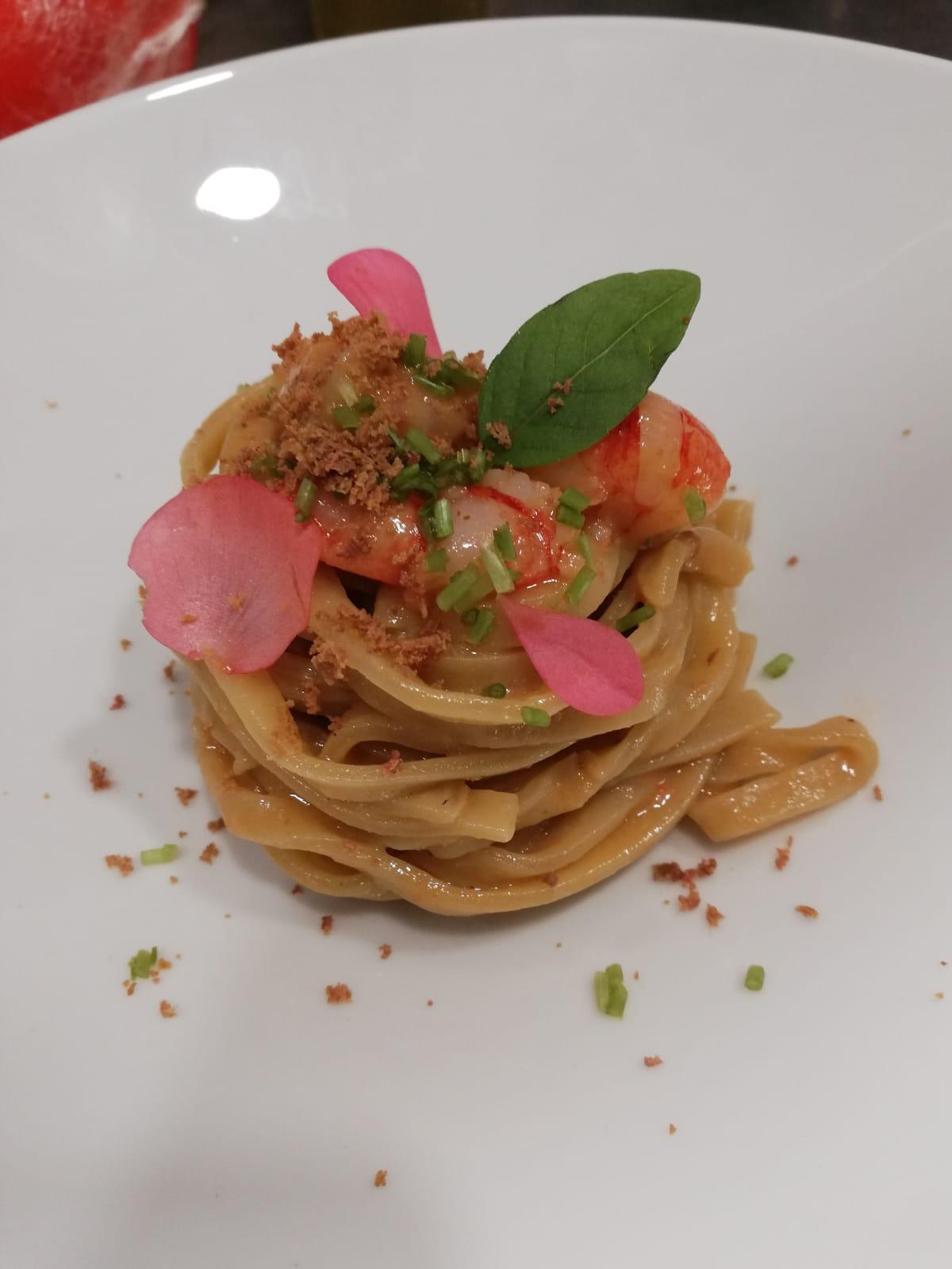 Menù delle Feste, i tagliolini dello chef Luca Cataldo
