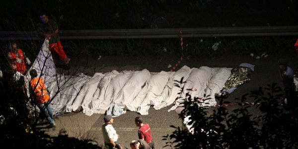 Avellino, bus nella scarpata: assolto l'ad di Autostrade