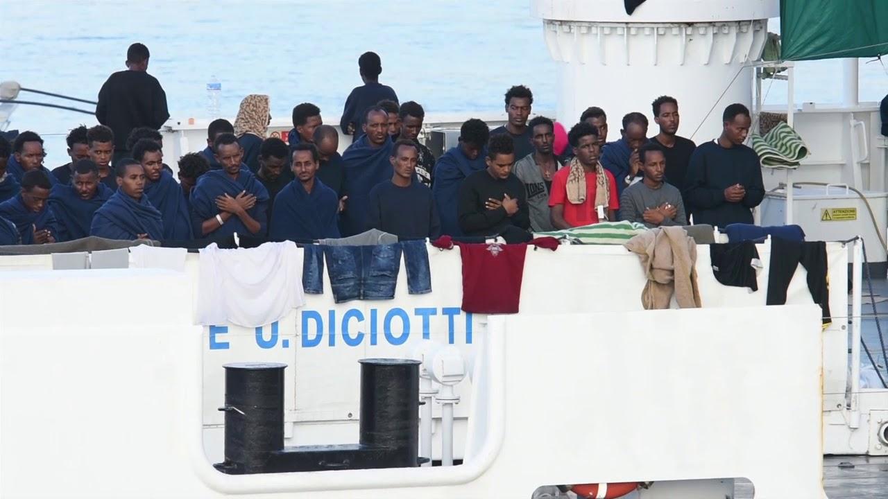 Caso Diciotti, alla Procura di Catania gli atti di Conte, Di Maio e Toninelli