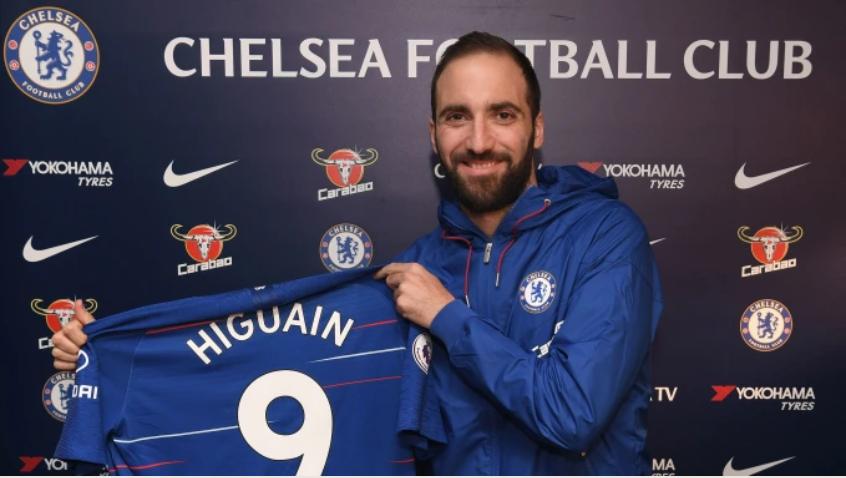 Chelsea, Higuain ha firmato: il comunicato del club